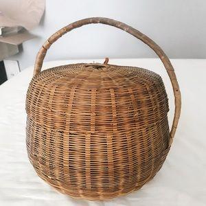 Jane Round Basket Bag